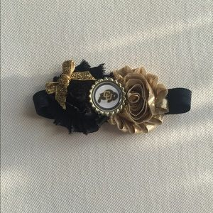 Colorado Buffaloes Infant Bow